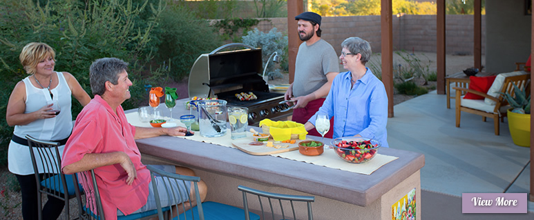 Outdoor Kitchens for Sonoran Gardens of Tucson, Arizona