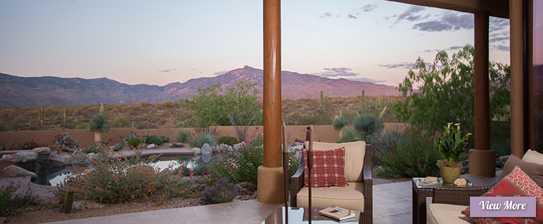 Outdoor Patios for Sonoran Gardens of Tucson, Arizona