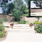 Flagstone patio and Mexican fountain | 2002 ALCA Judges Award