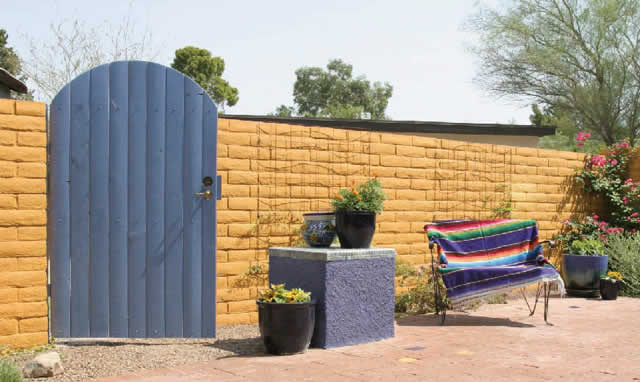 Retaining & Block Walls Tucson, AZ | Sonoran Gardens Inc.