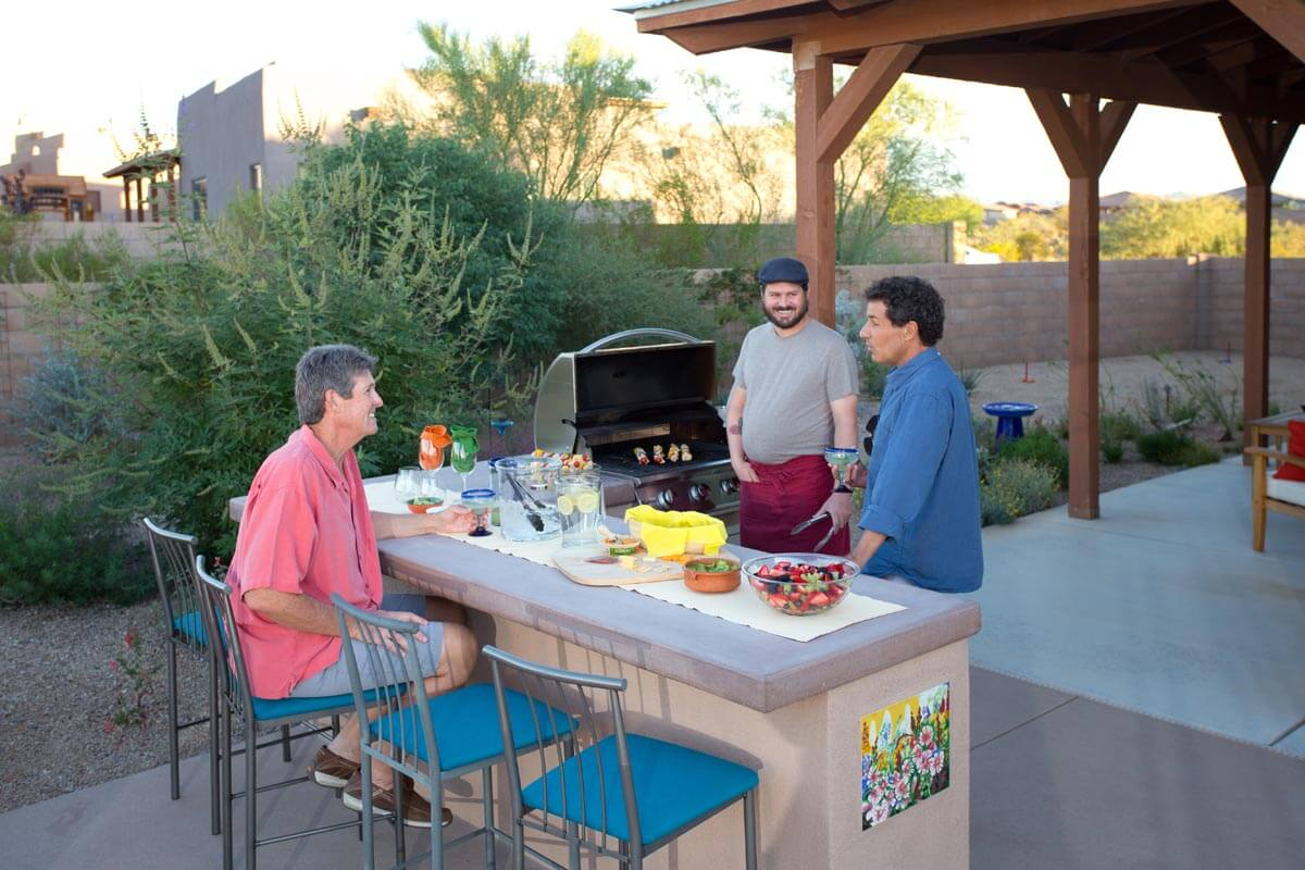 Our Beautiful Outdoor Kitchens In Tucson, Arizona