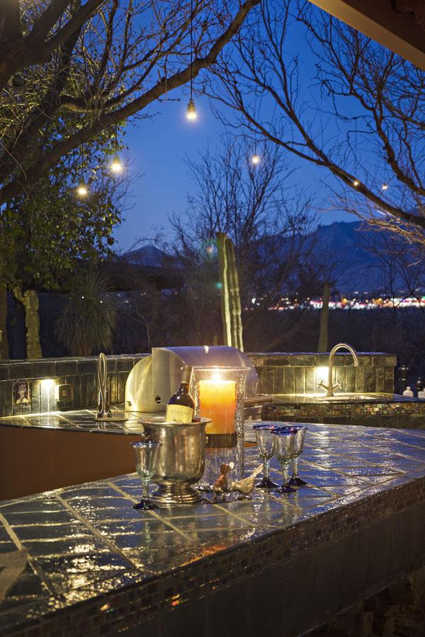 outdoor landscape lighting tucson az sonoran gardens inc