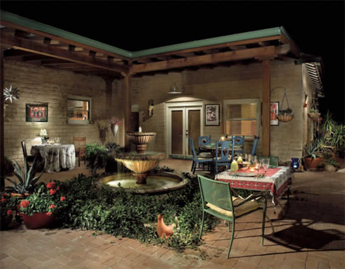 Water Features Tucson Az Sonoran Gardens Inc