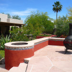 The Nacarati Residence - After - This entire project received the 2015 Award of Distinction from the Arizona Landscape Contractors' Association