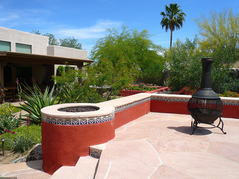 The Nacarati Residence   After   This Entire Project Received The 2015  Award Of Distinction From. Masonry Fire Feature ...