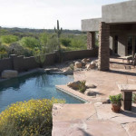 Flagstone patio and pool deck | 2004 ALCA Award of Excellence
